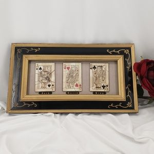 Other - Poker Theme Framed Art Picture
